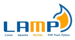 lamp stack logo - wordpress vs joomla vs drupal