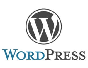 wordpress logo - wordpress vs joomla vs drupal