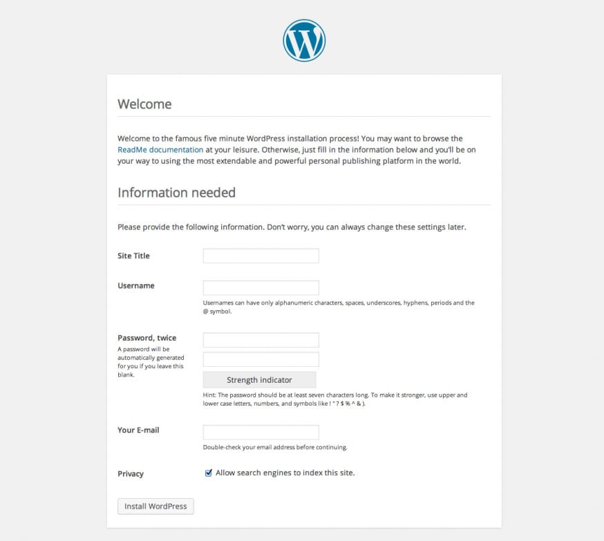 wordpress_installation